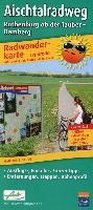 Radwanderkarte Aischtalradweg, Rothenburg ob der Tauber - Bamberg 1 : 50 000
