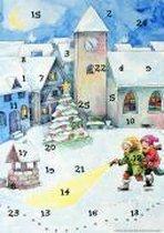 Lena und die Weihnachtsdetektive. Fensterbild-Adventskalender