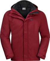 Jack Wolfskin Heren Gotland 3 in 1 (Dark Moss) Winter