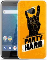 HTC U11 Life Hoesje Party Hard 2.0