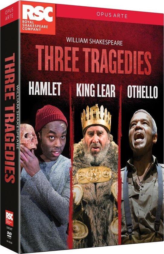 CD cover van Three Tragedies van Royal Shakespeare Company