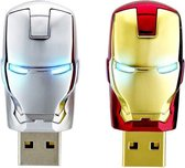 War Machine USB Stick | 32 GB | Marvel | Flash Drive | Geheugen | James Rhodes | Memory Stick | USB 2.0 | Computer | Laptop | Opslag | Iron Man | Tony Stark | Mark 1 | Grijs