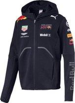 PUMA Red Bull Racing 2018 Team Hooded Sweat Jacket - Night Sky