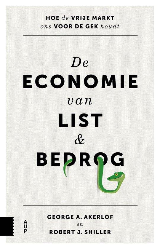Boek cover De economie van list en bedrog van Robert J. Shiller (Onbekend)