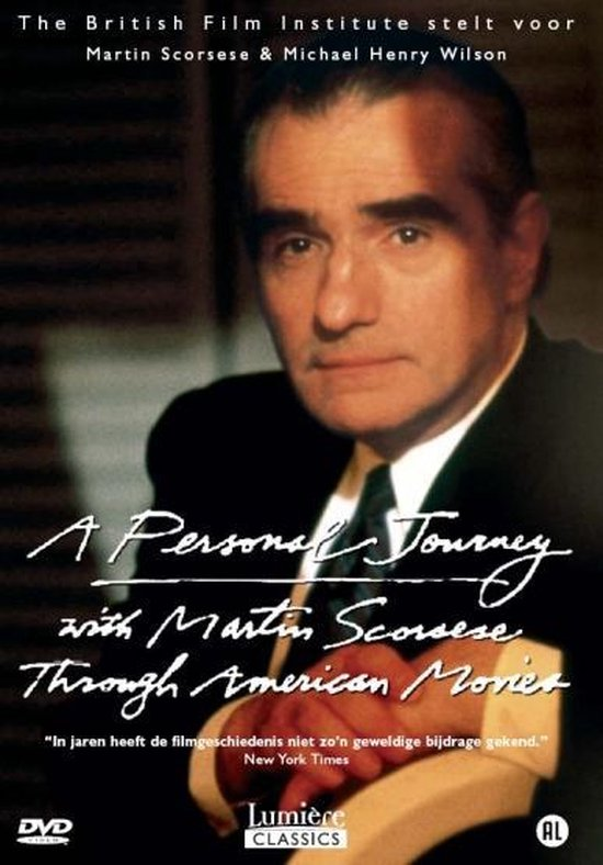 Cover van de film 'Personal Journey With Martin Scorsese Through American Movies'
