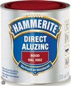 Hammerite Direct Over Aluzinc Rood 750ML