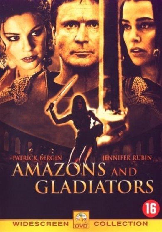 Cover van de film 'Amazons & Gladiators'
