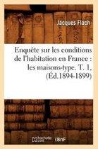 Enquete Sur Les Conditions de l'Habitation En France
