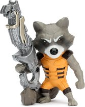 "METALFIGS MARVEL Guardians of the Galaxy 4"" Figure Rocket Racoon - Verzamelfiguur"