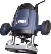 FERM Bovenfrees – 1200W – 6,8MM – Variabele snelheid – Incl. 3-delige frezenset, kopieerring
