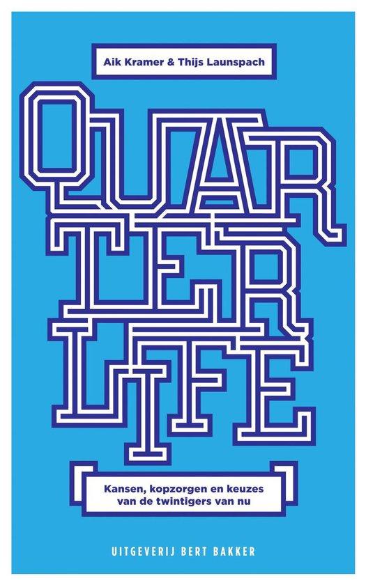 Boek cover Quarterlife van Aik Kramer (Onbekend)