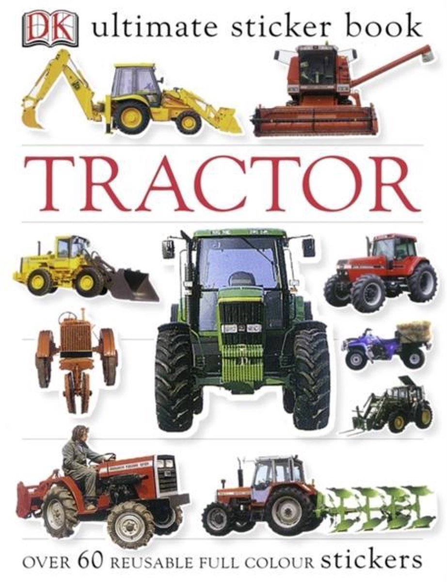 Tractor Ultimate Sticker Book - DK Publishing