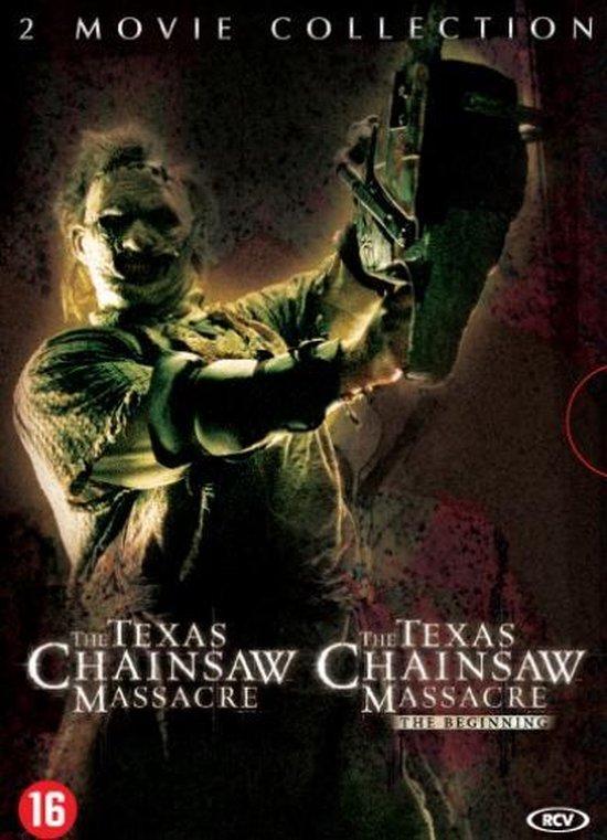 Cover van de film 'Texas Chainsaw Massacre 1&2'