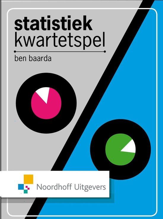 Statistiekkwartetspel - Ben Baarda |