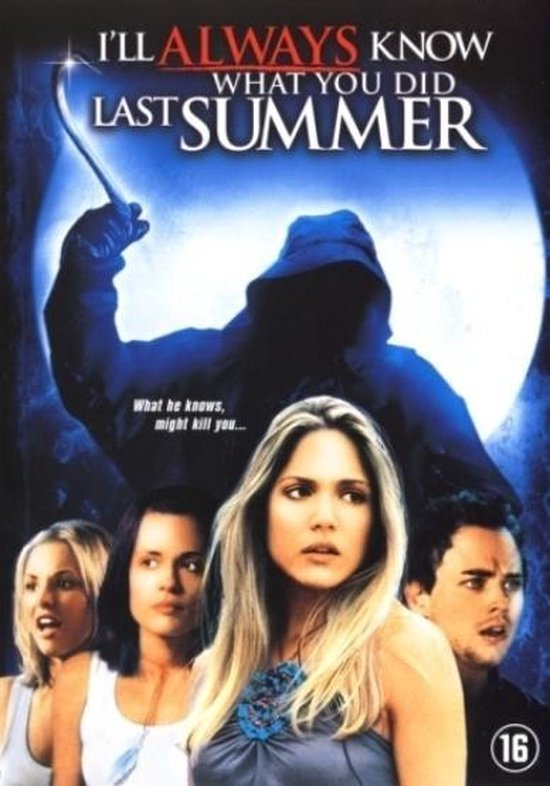 Cover van de film 'I'll Always Know What You Did Last Summer'