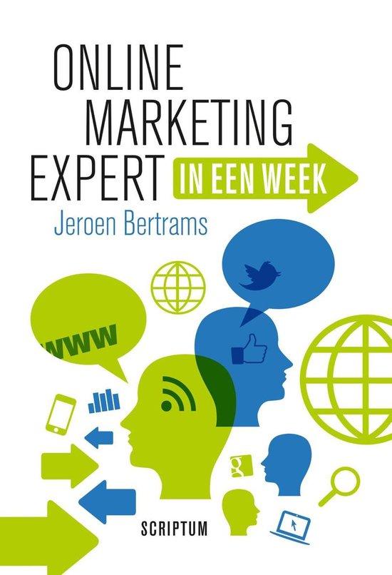Boek cover Online marketing expert in een week van Jeroen Bertrams (Onbekend)