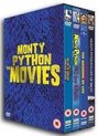 Monty Python: The Movies ('And Now For Something Completely Different', 'The Holy Grail'(2 discs), 'The Life Of Brian' and 'The Meaning Of Life')