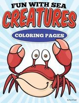 Fun with Sea Creatures Coloring Pages