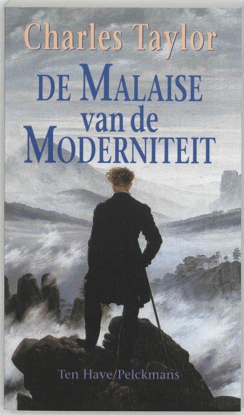 Cover van het boek 'De malaise van de moderniteit' van Charles Taylor