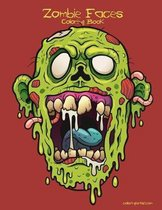 Zombie Faces Coloring Book