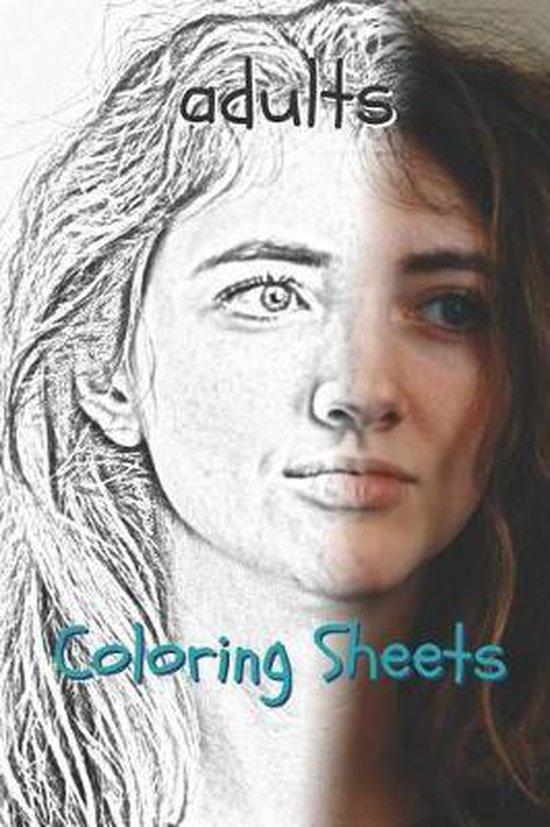 Adults Coloring Sheets