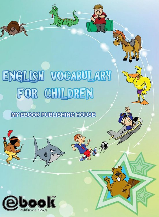 Boek cover English Vocabulary for Children van My Ebook Publishing House (Onbekend)