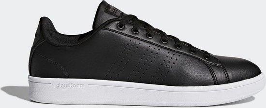 adidas CF Advantage CL Sneakers Heren - Core Black/Core Black/Dgh Solid Grey  - Maat 43 1/3 - adidas