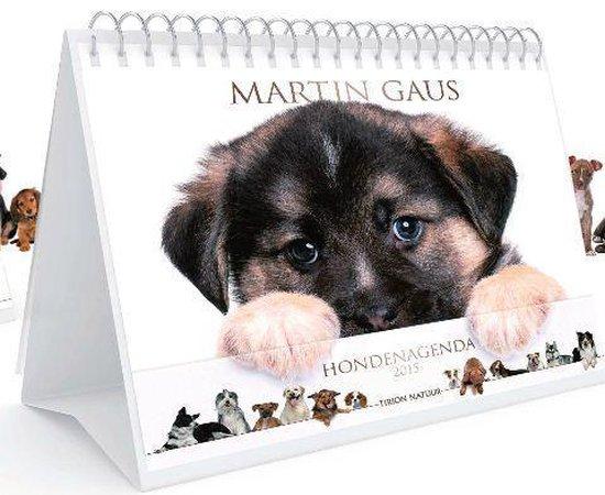Cover van het boek 'De Martin Gaus Hondenagenda  / 2015' van Martin Gaus