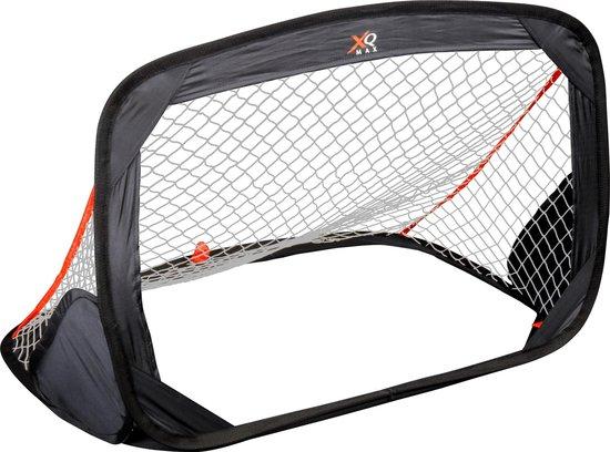 XQ Max pop-up één voetbaldoel/goaltje - afmetingen 60x90x60 cm - buiten voetballen - inclusief tas