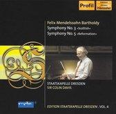 Mendelssohn: Symph. No 3 & 5