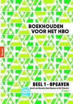 Boek cover Boekhouden voor het hbo deel 1. Opgavenboek van Gerard van Heeswijk