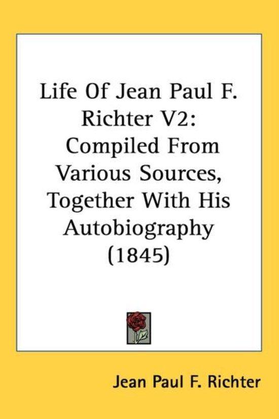 Life Of Jean Paul F. Richter V2
