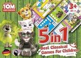 Talking Tom and Friends 5 in 1 Beste klassieke spellen voor kinderen