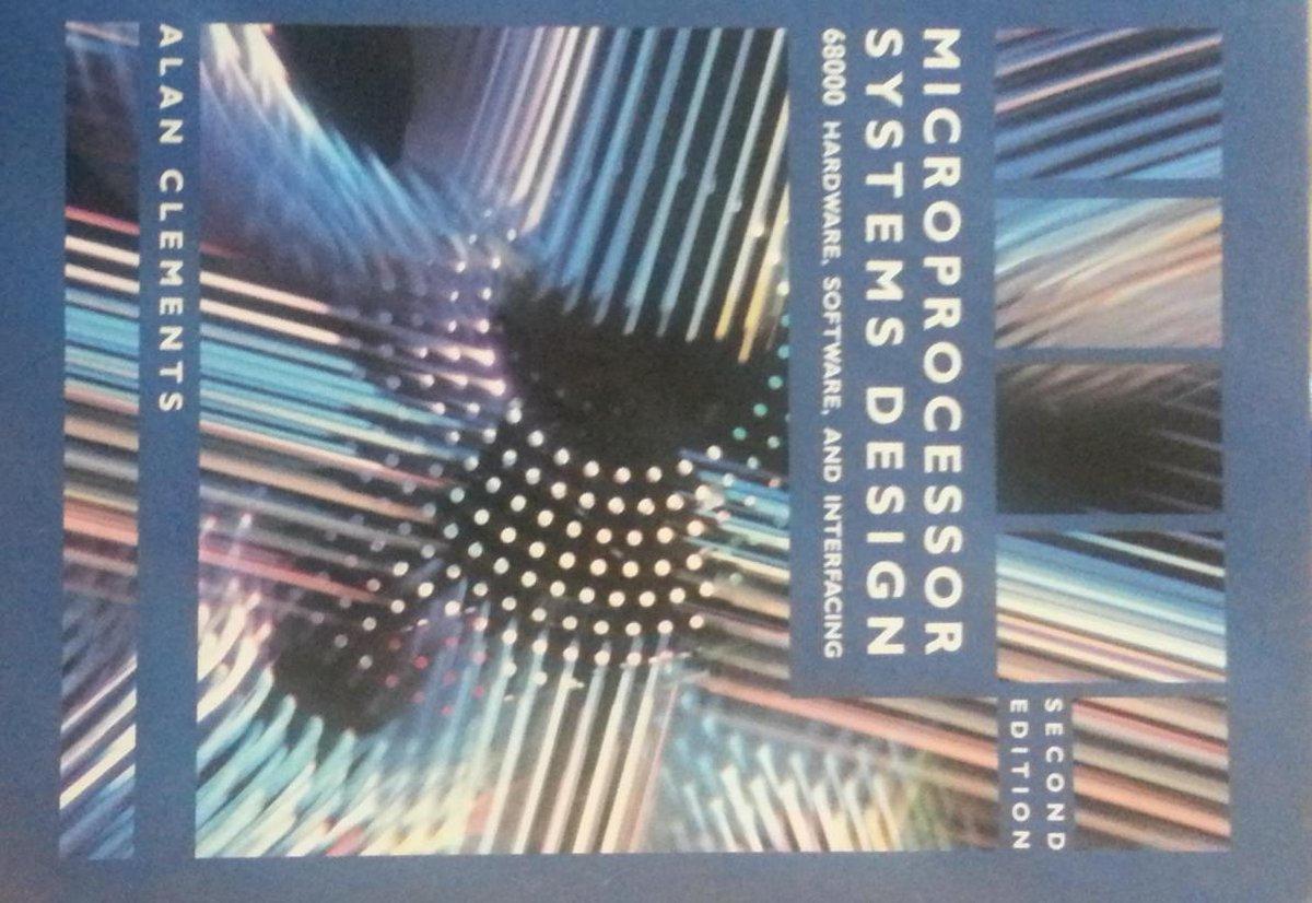 Bol Com Microprocessor Systems Design Second Edition Alan Clements 9780534983567 Boeken