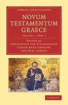 Boek cover Novum testamentum Graece van Constantin Von Tischendorf