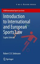 Introduction to International and European Sports Law
