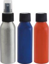 Travelsafe Bottles Kit - Aluminium - set 3 stuks