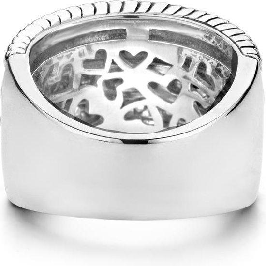 TI SENTO Milano Ring 1835ZI - Maat 56 (17,75 mm) - Gerhodineerd Sterling Zilver - TI SENTO - Milano