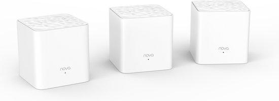 Tenda Nova MW3 Mesh Multiroom Wifi systeem (3pack)
