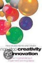 Boek cover Non-Stop Creativity and Innovation van Fiona Mcleod