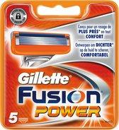 Gillette Fusion Power 5 stuks