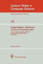 Applied Algebra, Algorithmics and Error-Correcting Codes