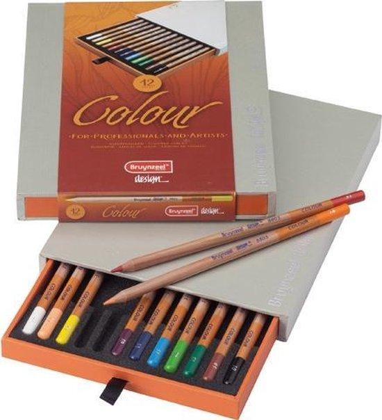 Afbeelding van Bruynzeel Designbox 12 Colour Potloden