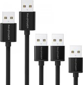 RAVPOWER MICRO USB CABLE 5 PACK (30CM /