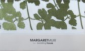 Margaret Muir Leaves Kussensloop - 60x70 cm - Green/White