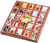 Adventskalender Hond voor Kerst - Hondensnack - 225 g