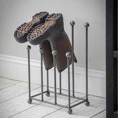 Farringdon Laarzenrek Staal - Schoenrek voor modderige laarzen