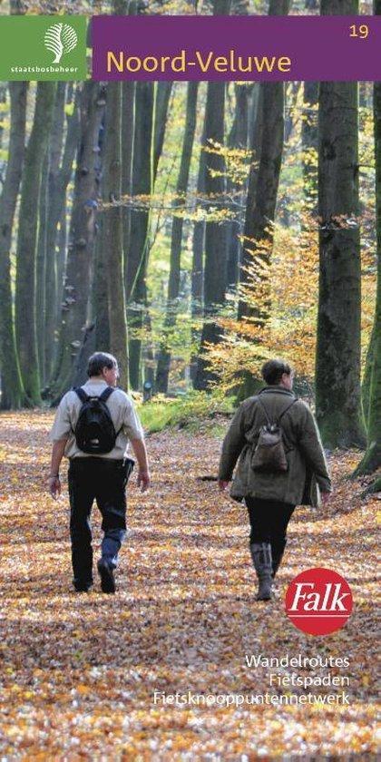 Falk Staatsbosbeheer wandelkaart 19 Noord-Veluwe - none |