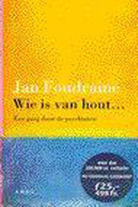 WIE IS VAN HOUT - Foudraine  