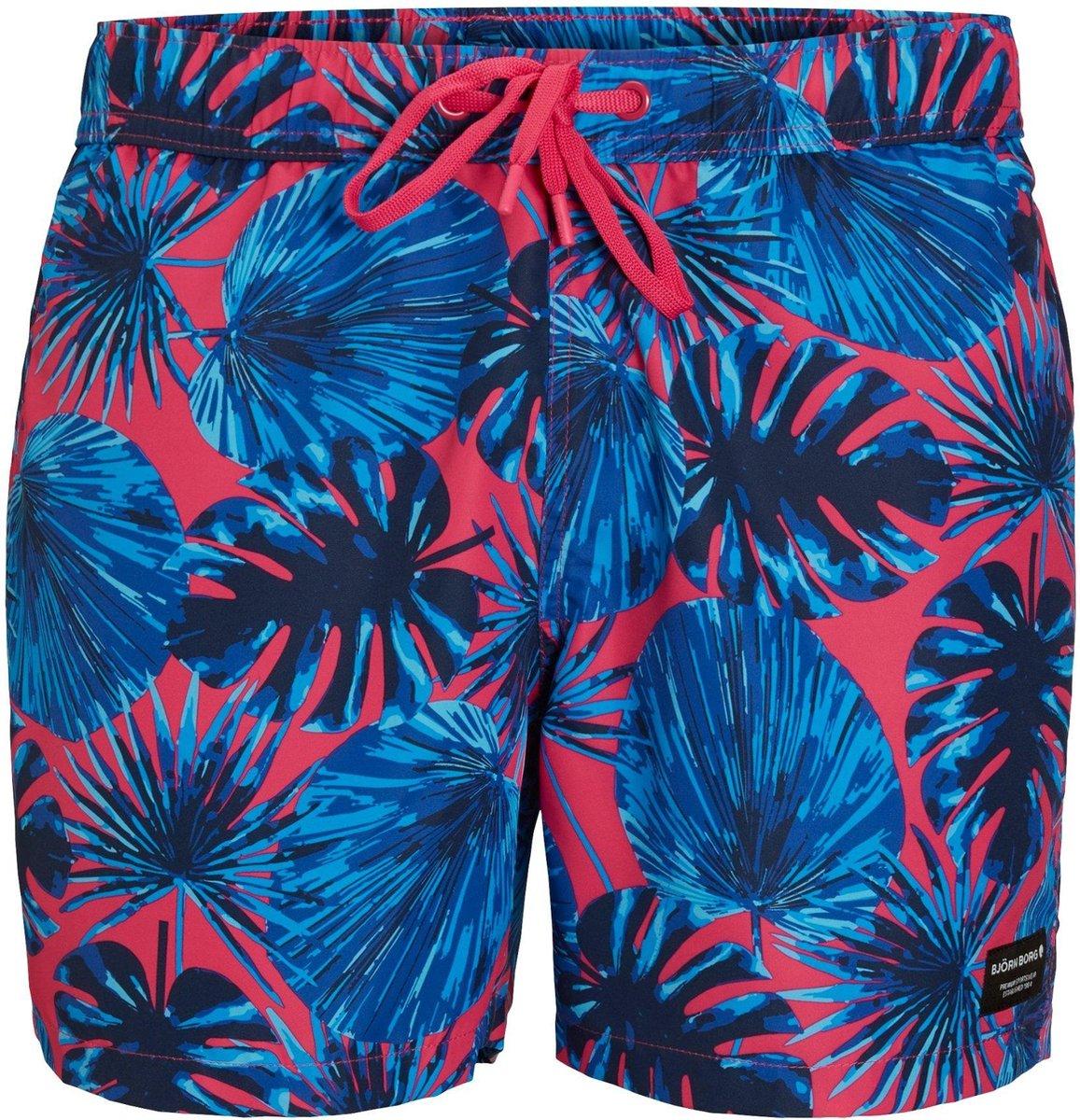 Bjorn Borg Kenny shorts jongens zwembroek - paars - maat 158